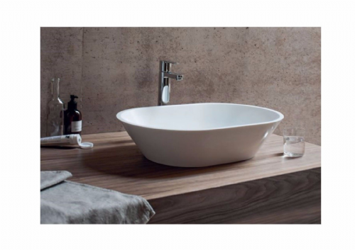 Sontuoso Clearwater 590mm Basin, Natural Stone Material B5E